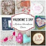 Valentine's Day Modern Farmhouse Decor