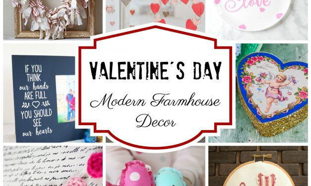 Valentine's Day Modern Farmhouse Decor