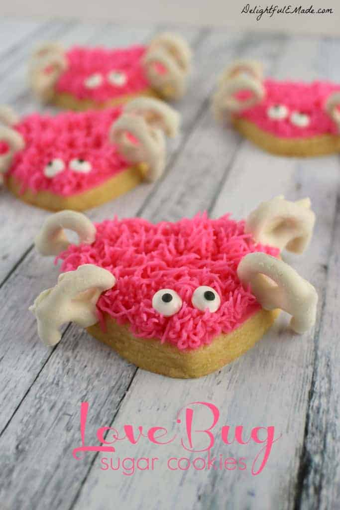 love bug sugar cookies - recipe