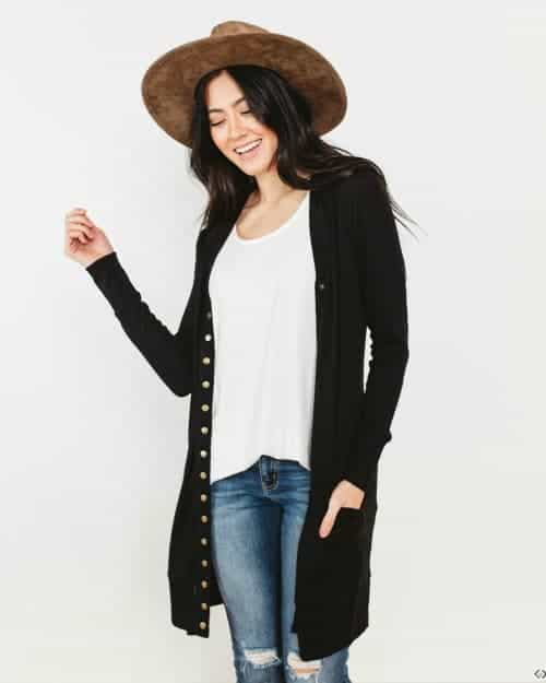 Extra long duster type cardigan - lots of colors available with 40% off and free shipping.