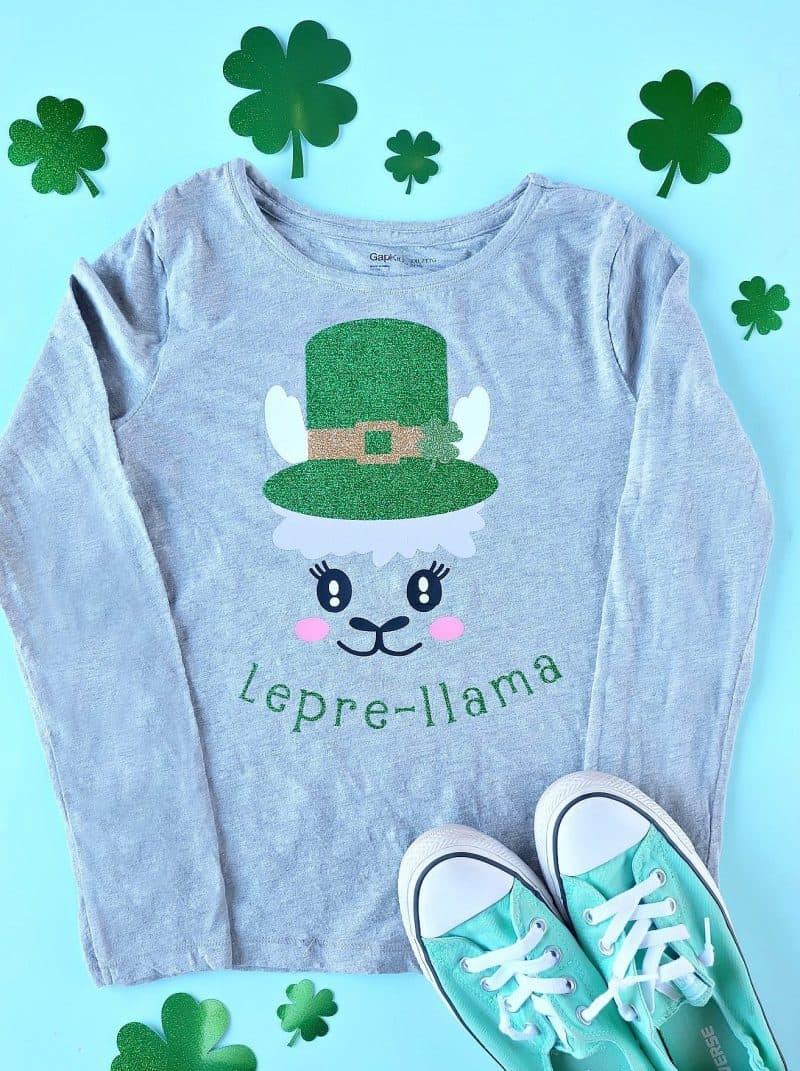 Lepre-llama T-Shirt made with Cricut Maker