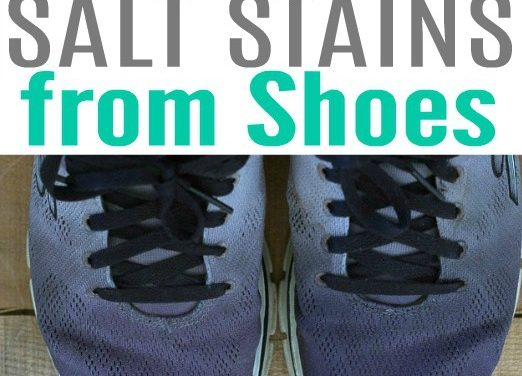 How-To Remove Salt Stains from Shoes