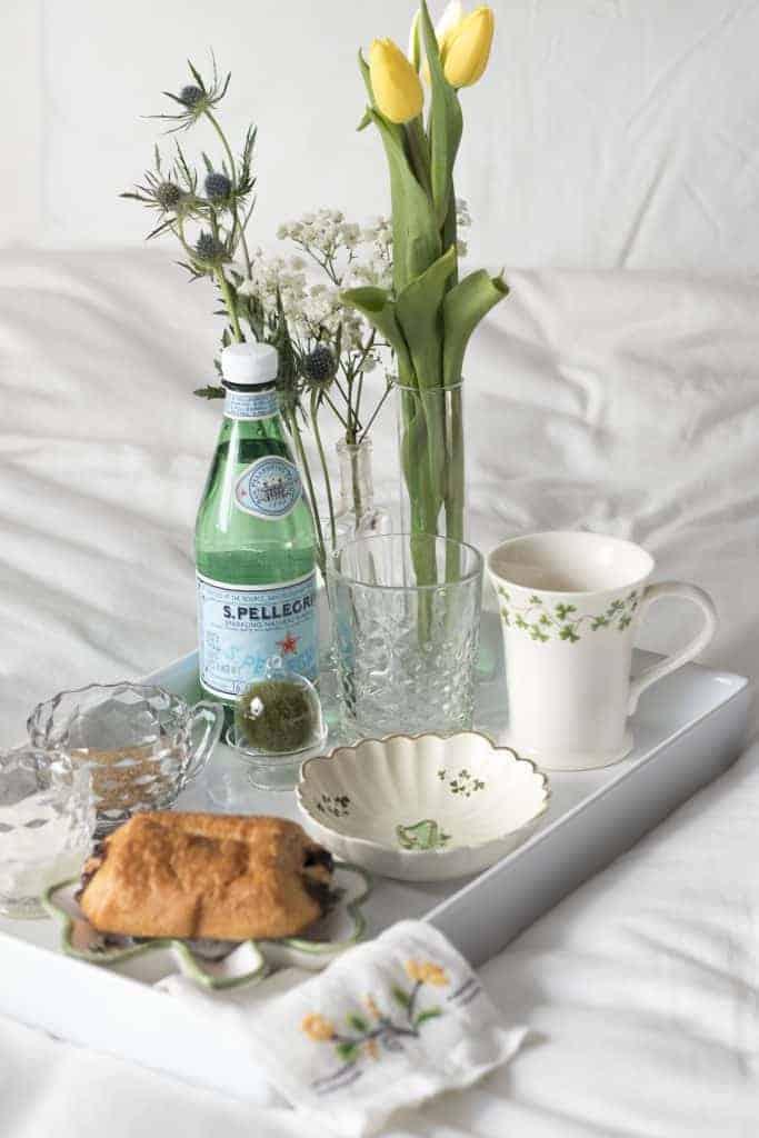 St. Patrick's Day Breakfast in Bed