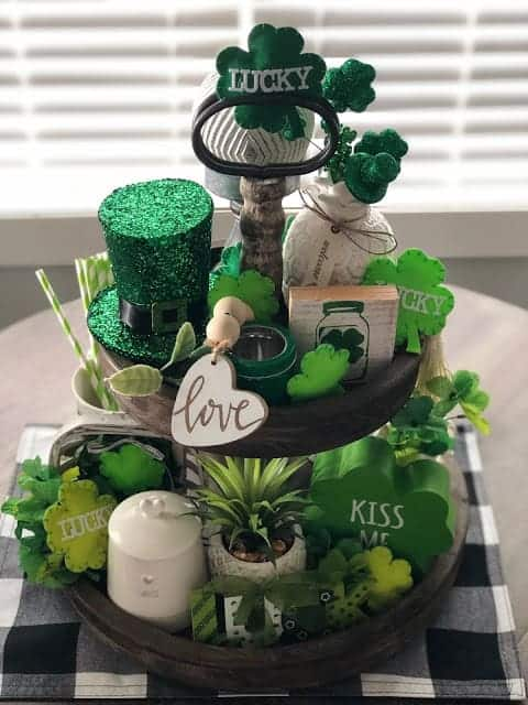 Tiered St. Patrick's Day Tray