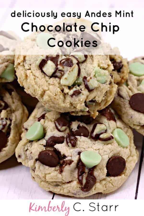Andes Candes Mint Chocolate Chip Cookies