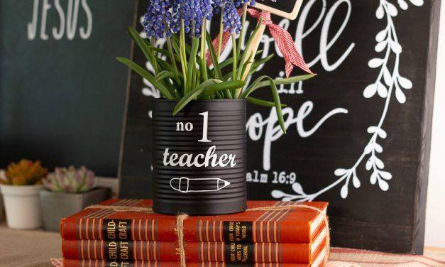 Number 1 Teacher Gift