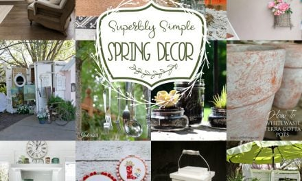 Superbly Simple Spring Decor