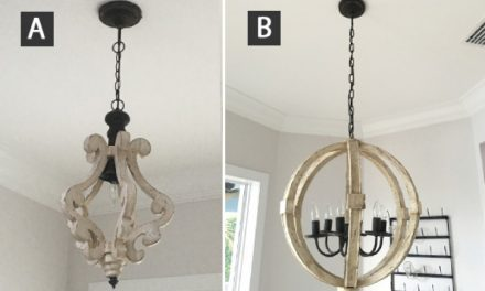 Distressed Shabby Chic White Wood Chandeliers