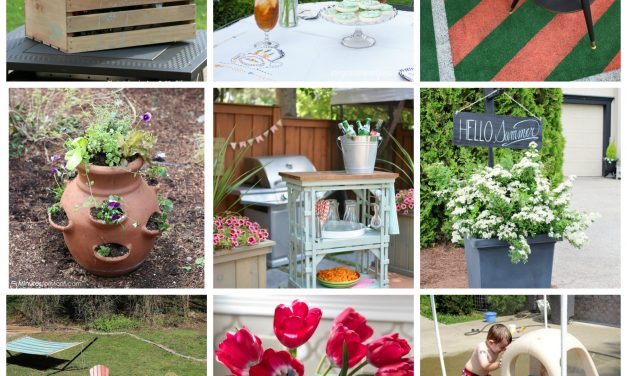 12 Outdoor DIY and Yard Ideas on a Budget