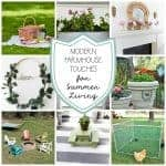 Modern Farmhouse Summer Decor
