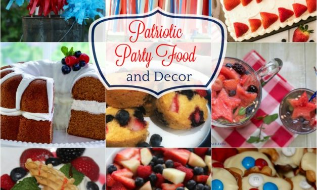 Patriotic Party Food and Decor