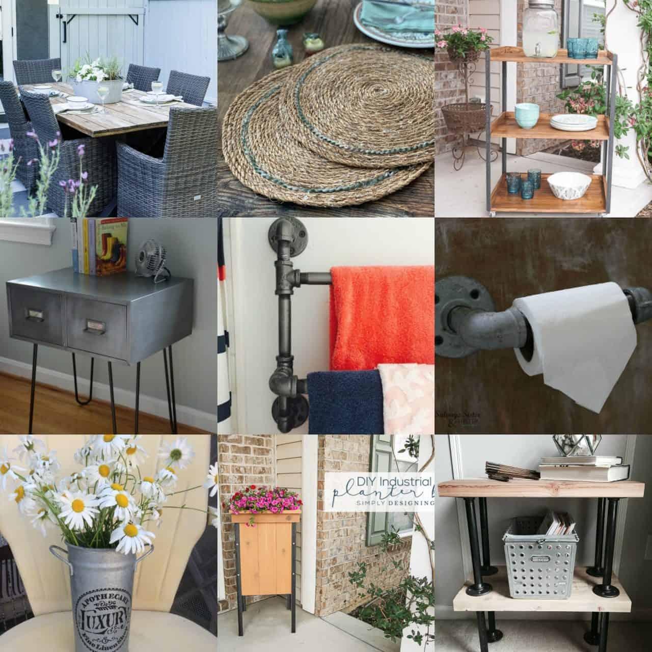 Farmhouse Industrial Decor Ideas: 9 Industrial Farmhouse Decor Ideas