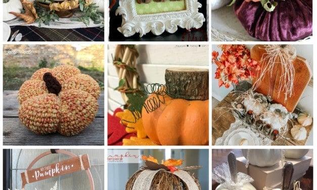 9 Beautiful Pumpkin DIYs