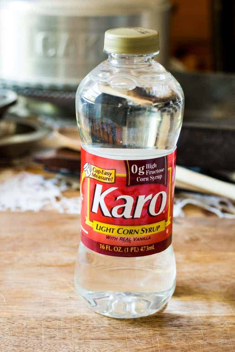 Karo Corn Syrup - the secret ingredient to chewy chocolate chip cookies