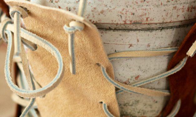 Easy DIY Leather Plant Hanger
