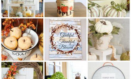 9 Fresh Fall Decor Ideas