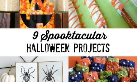 9 Darling and Spooktacular Halloween Projects