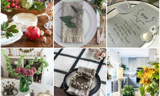 Elegant Thanksgiving Table Ideas