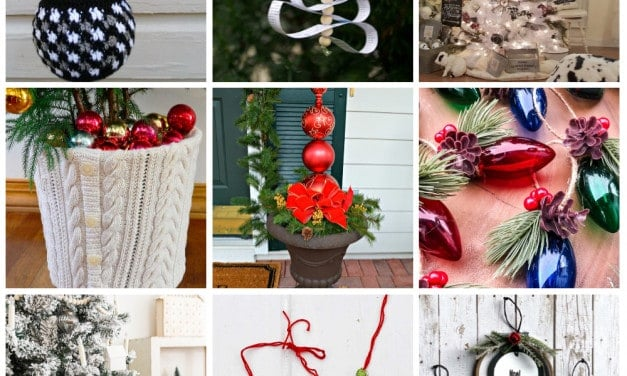 Oh, Christmas Tree! 14 Unique Ornament and Christmas Tree Ideas