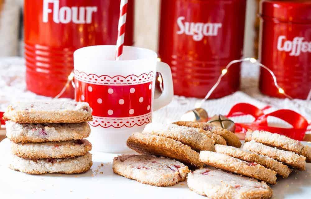 Santa's Whiskers Christmas Cookies