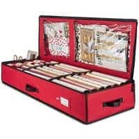 Wrapping Paper Organizer and Storage