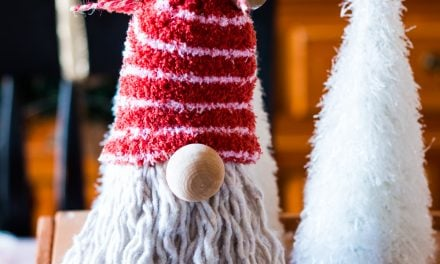 DIY Dollar Tree Gnome for Christmas