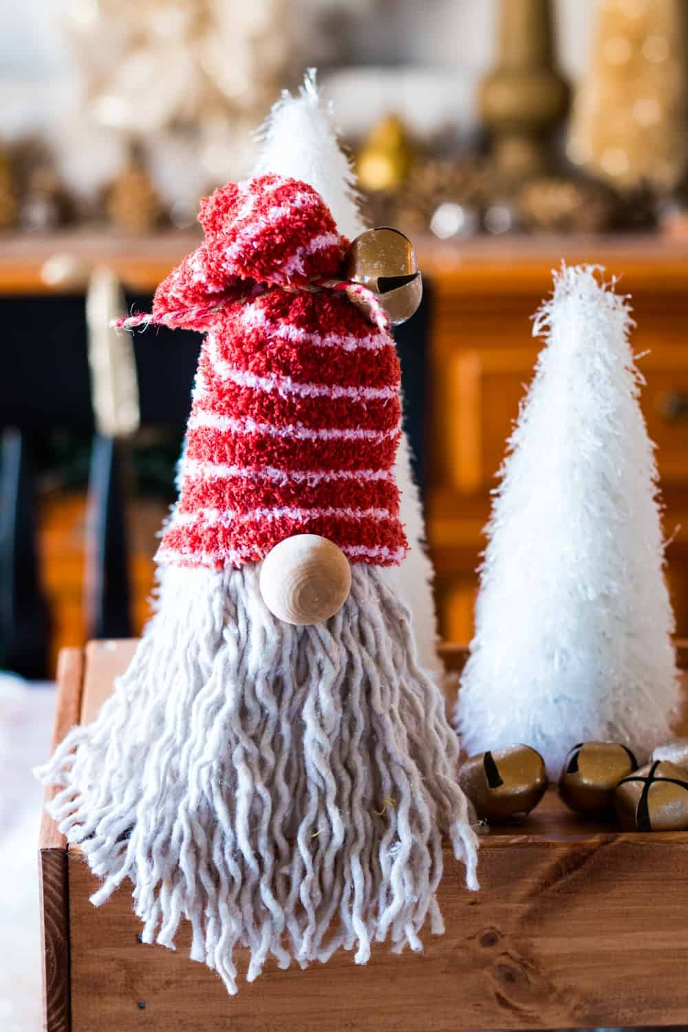 DIY Dollar Tree Gnome for Christmas | The How-To Home