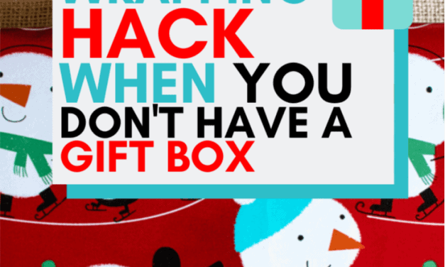 How To Wrap a Gift When You Don't Have a Gift Box