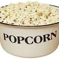 Farmhouse Style Enamelware Popcorn Bowl