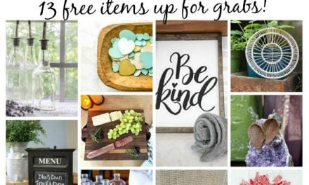 Glass Apothecary Jars Giveaway