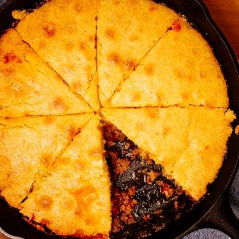 Easy Beef Tamale Pie