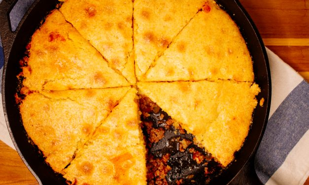 Easy Beef Tamale Pie