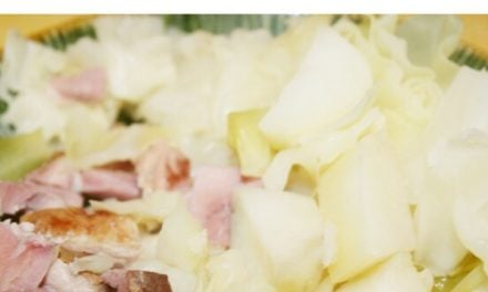 Ham, Cabbage & Potatoes~Easy One Pot Meal