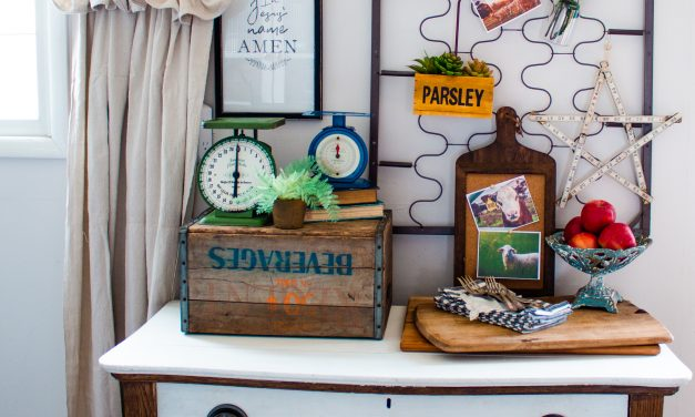 How-To Decorate with Repurposed Crib Springs