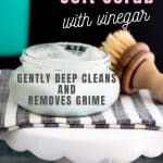Homemade Soft Scrub Scrubbing Cleaner