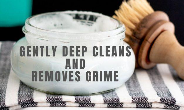 Homemade Soft Scrub Scrubbing Cleaner