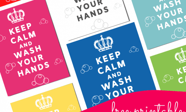 Keep Calm and Wash Your Hands – Free Printable