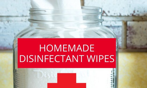 HOMEMADE LYSOL WIPES (HOW TO MAKE YOUR OWN DISINFECTANT WIPES)