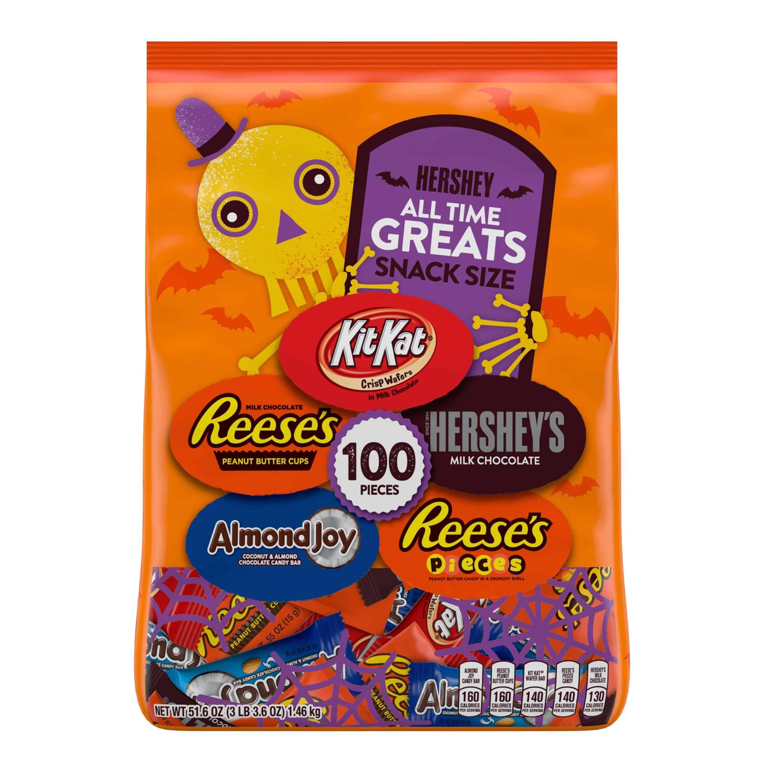 Hershey Halloween Candy Assortment - 100 Count