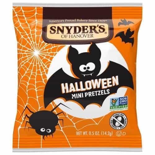 Snyder's Mini Halloween Pretzels, 30 Count