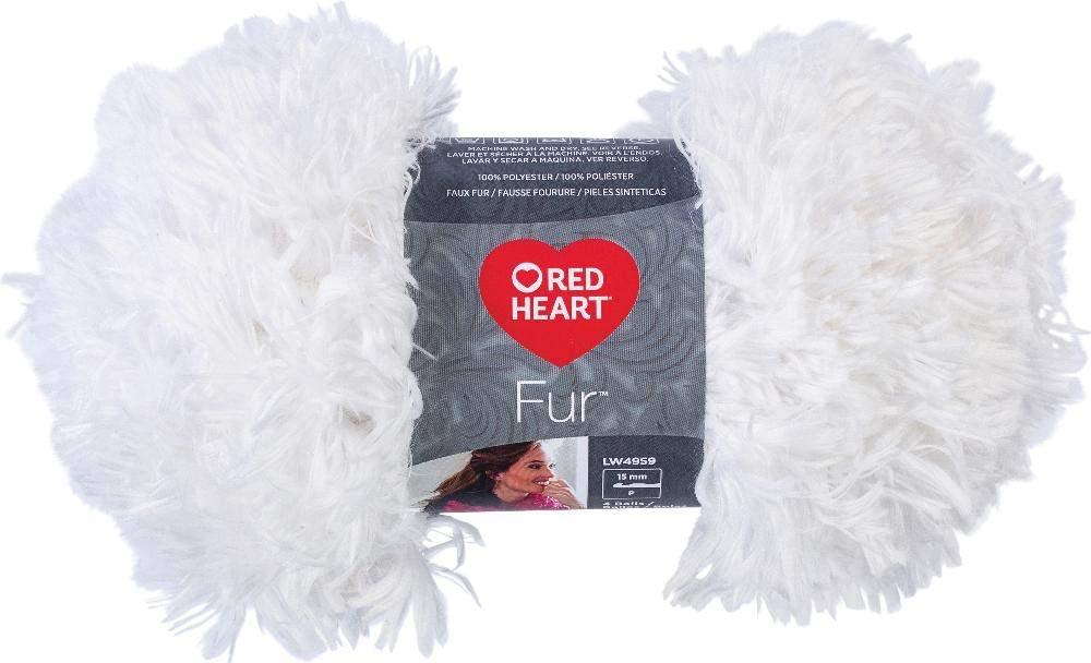 RED HEART Snow Yarn