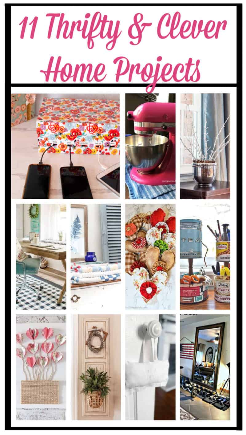 11 Thrifty and Clever Home Projects including a Shoebox Charging Station