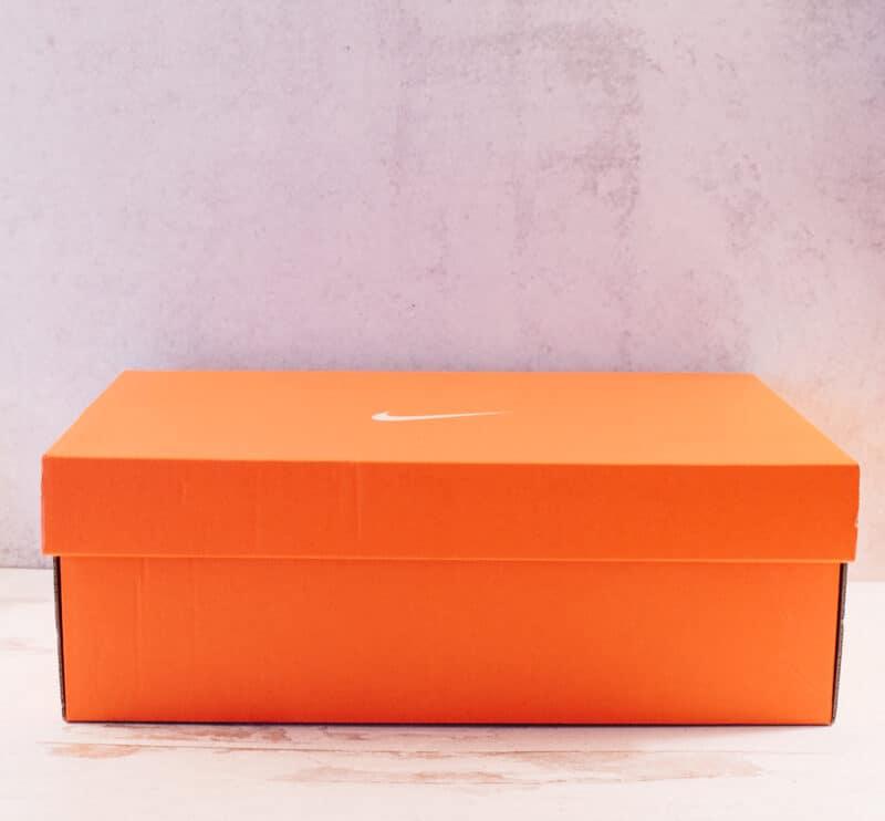 Orange Nike Shoebox