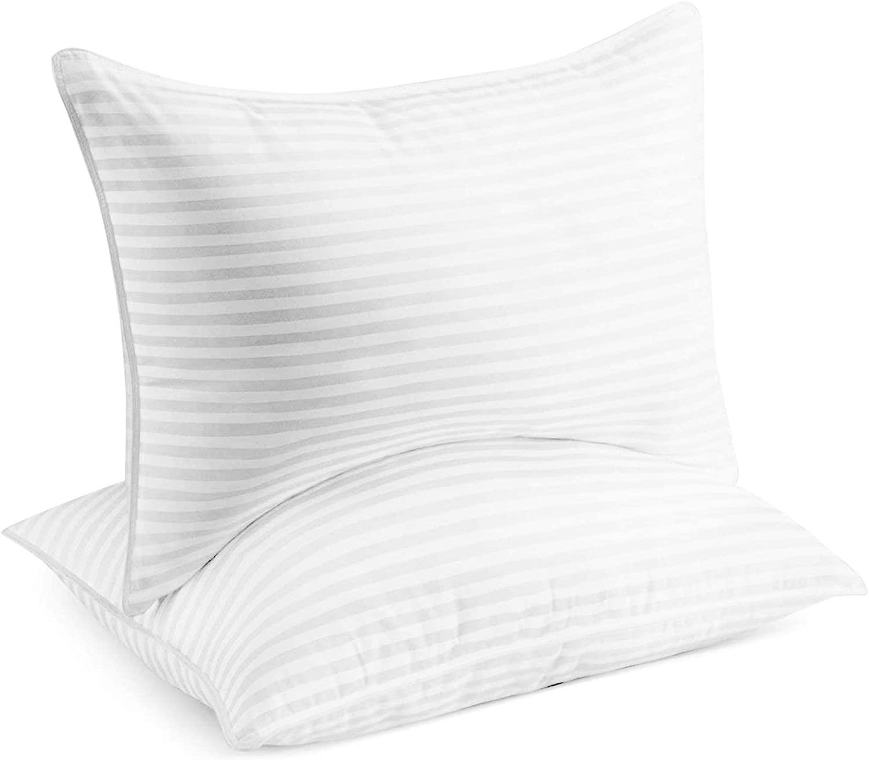 Beckham Hotel Collection Luxury Plush Gel Pillow