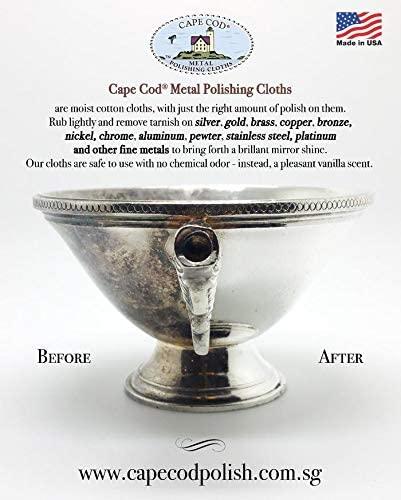 Cape Cod Polish Co Metal Polishing Cloths