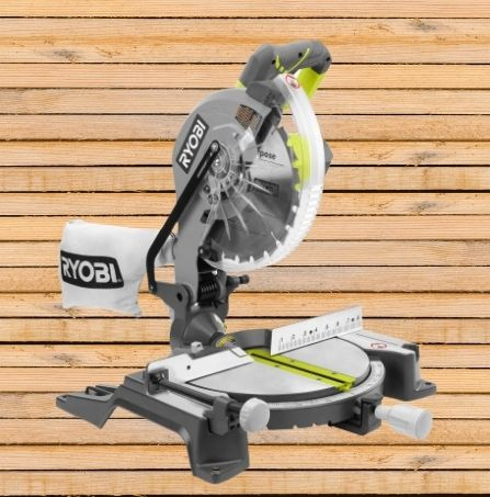 RYOBI 10 in. Compound Miter Saw with LED-TS1346 - The Home Depot