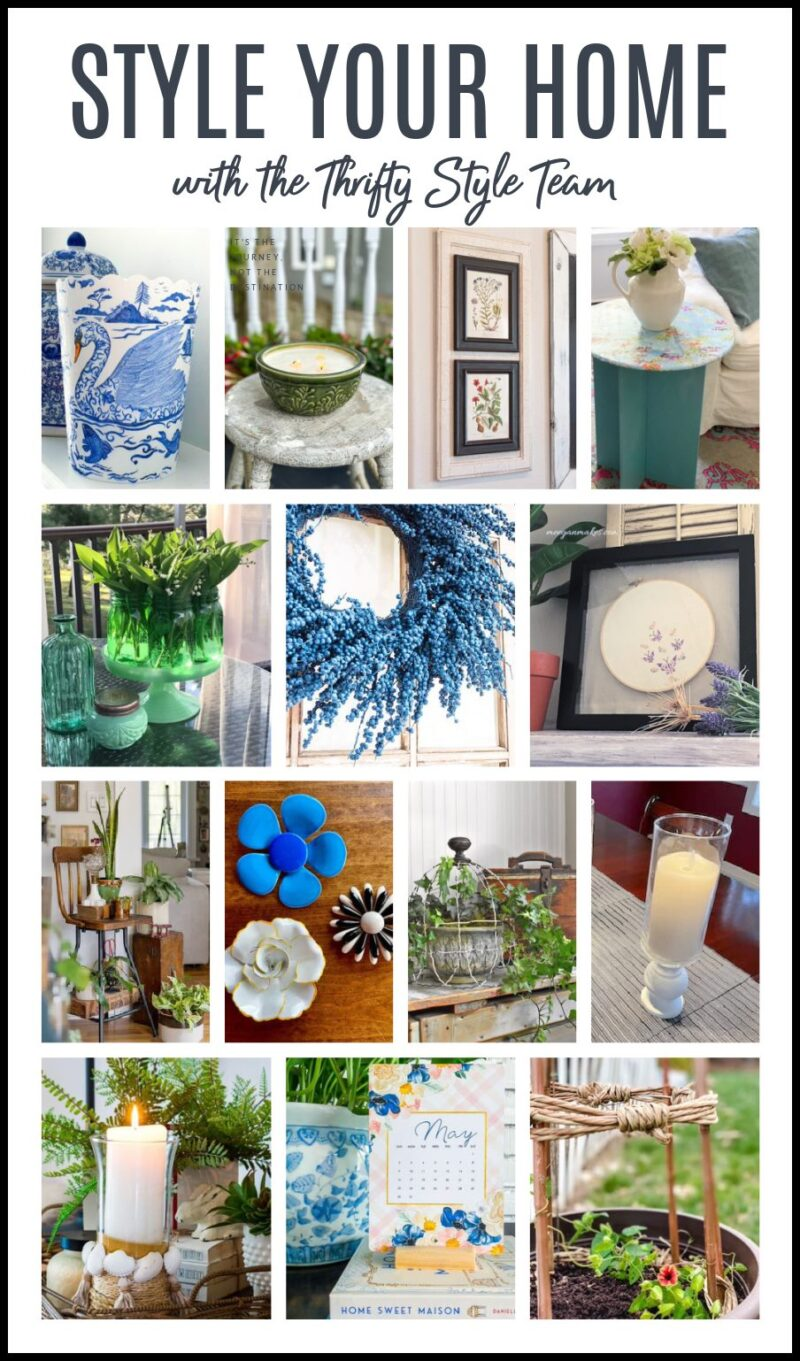 Collage of 14 beautiful home décor DIYs that are budget friendly.
