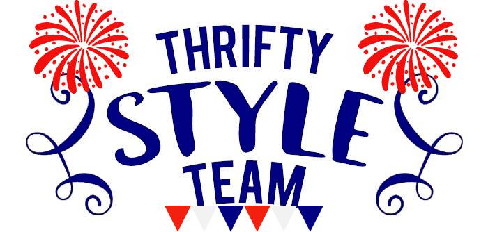 Thrifty Style Team Red White and Blue Logo for 2021