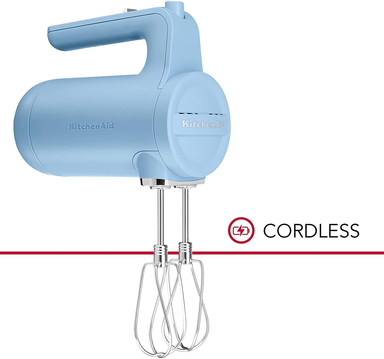 KitchenAid 7-Speed Cordless Hand Mixer | Blue Velvet